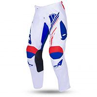 Pantaloni Ufo Heron Bianco Blu Rosso