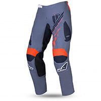 Pantaloni Ufo Heron Grigio Arancio