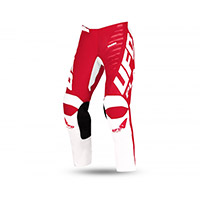 Pantaloni Bimbo Ufo Kimura Bianco Rosso Bimbo