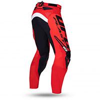 Pantaloni Ufo Radom Nero Rosso