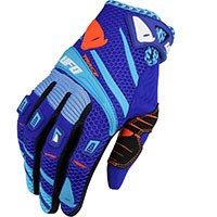 Ufo Trace Gloves Blue