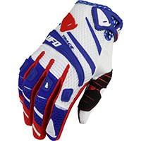 Ufo Trace Gloves White