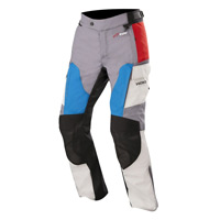 Alpinestars Andes V2 Drystar Pants Gray Red Blue