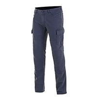 Jeans Alpinestars Cargo azul distressed