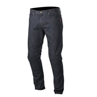 Alpinestars Jeans Copper Honda Denim Blu Scuro Rosso