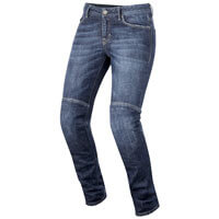Alpinestars Daisy Women's Denim Pants Blu Donna