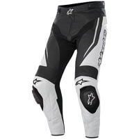 Alpinestars Track Leather Pants Black White