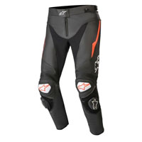 Alpinestars Track V2 Leather Pants Red