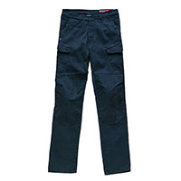 Jeans Blauer Stuart Cargo Canvas Bleu