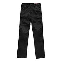 Blauer Stuart Cargo Canvas Jeans Black