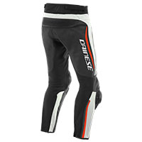Dainese Alpha Perforated Leather Pants Red