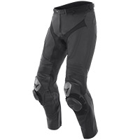 Dainese Alpha Leather Pants Black