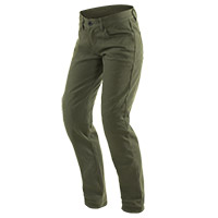 Dainese Casual Regular Lady Jeans Olive