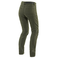 Dainese Classic Slim Lady Jeans Olive