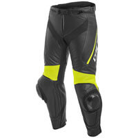 Dainese Delta 3 Leather Pants Giallo