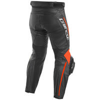 Dainese Delta 3 Perforated Leather Pants Rosso