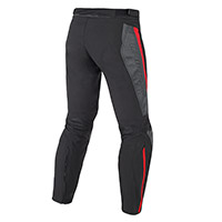 Dainese Mig Leather-tex Pants Black Lava Red