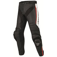 Dainese Misano Leather Pants Rosso