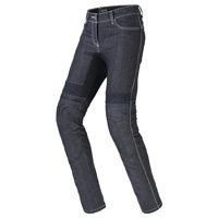 Spidi Furious Pro Lady Denim Jeans Dark Blue