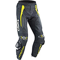 Ixon Vortex Trousers Black Grey Yellow Fluo