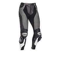 Pantalones de cuero Ixon Vendetta Evo gris negro
