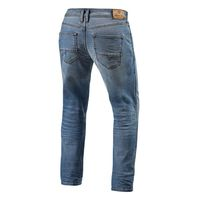 Jeans Moto Rev'it Brentwood Azzurro