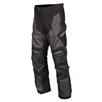 Klim Baja S4 Pants Black Kinetik Blue