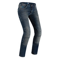 Pmj New Florida Lady Jeans Blue