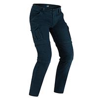 Pmj Santiago Zip Jeans Blue Navy