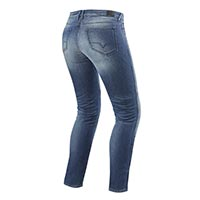 Rev'it Jeans Westwood Ladies Sf Light Blue Used