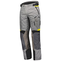 Pantaloni Scott Dualraid Dryo Grigio Giallo