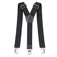 Spidi Suspenders Black
