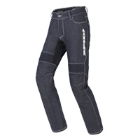 Spidi Furious Pro Denim Jeans Blue White