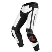 Spidi Rr Pro Leather Pants White
