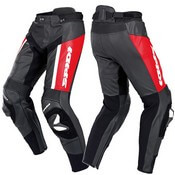 Spidi Rr Pro Leather Pants Rosso
