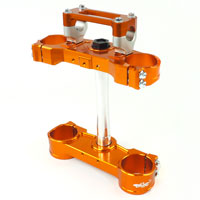 Clamp Geco Ktm Orange Offset 22mm