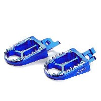 Footpegs Kite Husqvarna Tc/fc/te/fe Blu