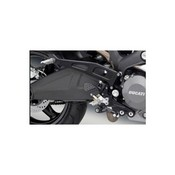 Rizoma Passenger Footrest Kit Ducati Monster Black