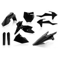 Acerbis Plastic Full Kits Ktm Sx - Sx-f 16/18 Black