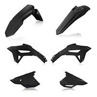 Acerbis Plastics Kit Honda Crf450 2021 Black