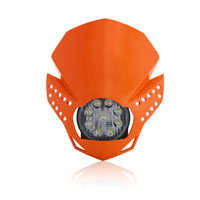 Acerbis Fulmine Orange Headlight