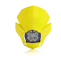 Acerbis Fulmine Yellow Headlight
