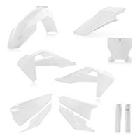 Acerbis Plastics Kit Husqvarna Tc/fc 19 White