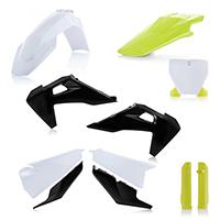 Acerbis Plastics Kit Husqvarna Tc/fc 19 White Black