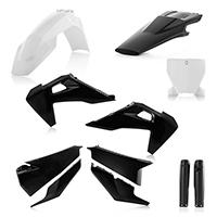 Acerbis Plastics Kit Husqvarna Tc/fc 19 Black White