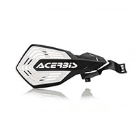 Acerbis K Future Kawasaki Handguards Black White
