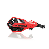 Acerbis K Future Handguards Gas Gas Red Black