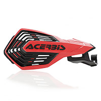 Acerbis K Future Handguards Honda H Red Black