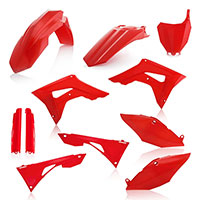 Acerbis Honda Crf 250/450r Plastics Kit Red