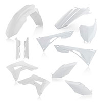 Acerbis Honda Crf 250/450rx Plastics Kit White